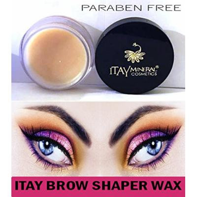 Itay Beauty Paraben Free Defining Eye Brow Shaper Wax Primer (To Use with Fibers or Powder)