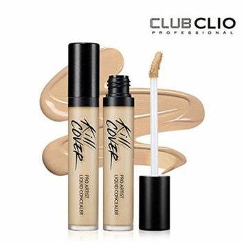 Clio Kill Cover Pro Artist Liquid Concealer 7.5g/100% Authentic Korea Cosmetic (#2 BP Lingerie)