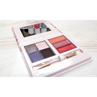 Mary Kay Into the Garden Color Compact 4 Eye Shadows 3 Lip Glosses 1 duel ended applicator