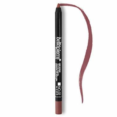 BellaPierre Waterproof Gel Lip Liner, 02 Nude - Bella Pierre Cosmetics