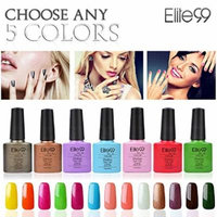 Elite99 (Any 5 Colors) Soak Off Gel Nail Polish UV LED Color Nail Art 5PCS Gift Set