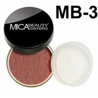 Bundle 2 Items: MicaBeauty Full Size Mineral Blush +Itay Premium Blush Brush (MB3 Mocha Mist)