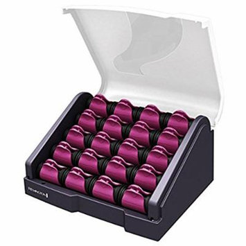 Remington H-9096 T-Studio Silk Ceramic Heated Clip Setter 20-Count, Hair Roller, (8) 1 inch and (12) 1-1/4, COLORS MAY VARY (Certified Refurbished)