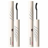 Innisfree Skinny Volumecara Mascara 0.14 Oz/4g x 2 ( Upgrade Longlongcara n Microcara )