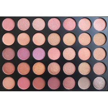 The Beauty Box Artist Eyeshadow Palette- 35 COLORS (Glow Shimmer Collection)