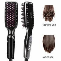 ACEVIVI Ionic Hair Straightening Brush 2.0 (Black1)