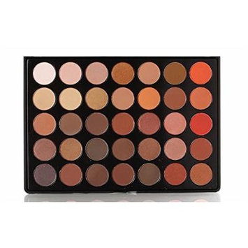 Beauty Box The Artist Eye Shadow Palette, Volcanic Collection, 35 Colors