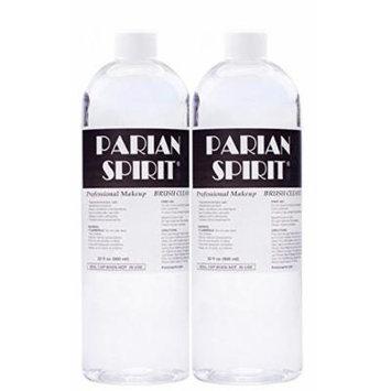 2 PACK Parian Spirit Brush Cleaner 32 oz - 2 NEW 32oz Bottles