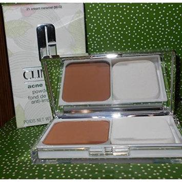 Clinique Acne Solutions Powder makeup 21 Cream Caramel M-G .35 oz