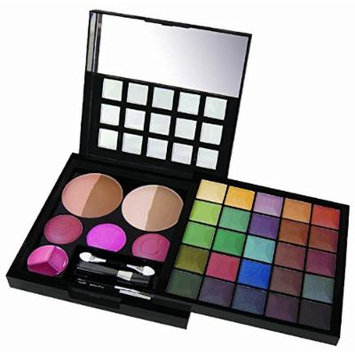 Cameo 'Pyramid Of Power' Professional Makeup Kit - 35 Piece Makeup Palette With Sturdy Case That's Perfect For Newbies And Pros