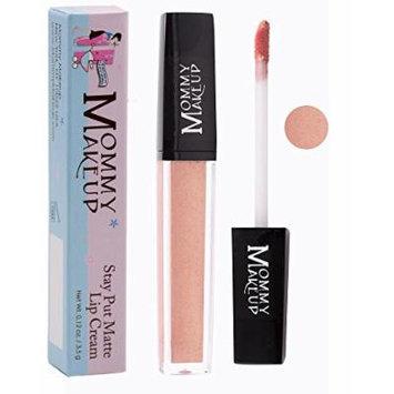 Stay Put Matte Lip Cream | Kiss-Proof Matte Lipstick - Paraben Free - Angelica, a light shimmery rose gold
