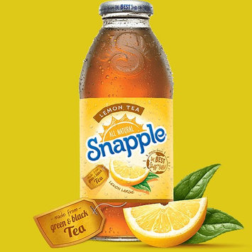 Snapple Lemon Tea, 16-oz Plastic Bottles