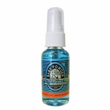 BluntPower 1 oz Glass Bottle Oil Based Air Freshener & Oil Burner, Baby Powder