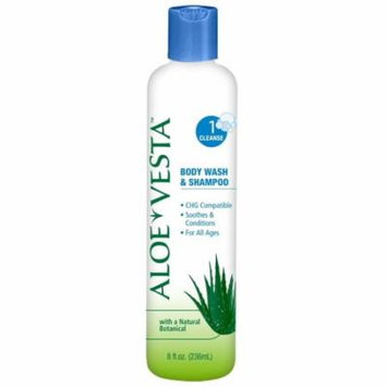 Aloe Vesta Body Wash & Shampoo, 8 oz Bottle, Scented - 1 Each