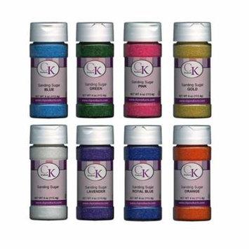 CK Products 4 Oz Sanding Sugar Soft Green