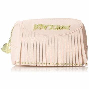 Betsey Johnson On the Fringe Small Cosmetic Case - Blush