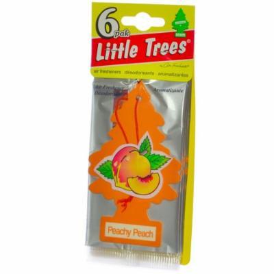 Little Trees Cardboard Hanging Car, Home & Office Air Freshener, Peachy peach -6