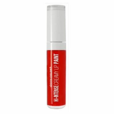 (6 Pack) CITY COLOR Hi-Intense Creamy Lip Paint - Forever & Ever