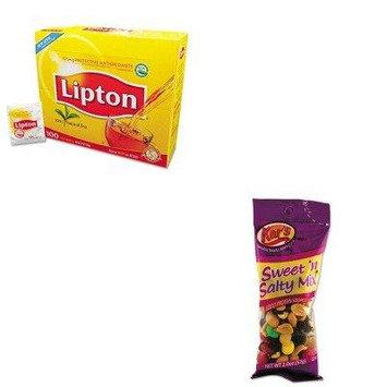 KITAVTSN08387LIP291 - Value Kit - Kar's Nuts Caddy (AVTSN08387) and Lipton Tea Bags (LIP291)