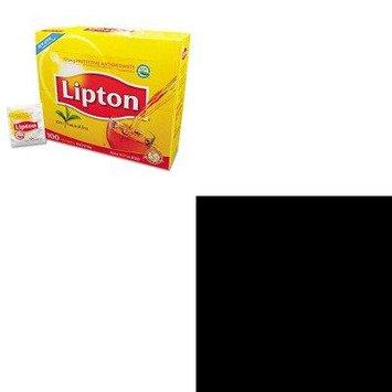 KITLIP291OFX00084 - Value Kit - Office Snax Pretzel Assortment (OFX00084) and Lipton Tea Bags (LIP291)