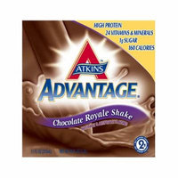 Atkins Ready To Drink Shake, Dark Chocolate Royale, 11-Ounce Aseptic Containers (Pack of 12)