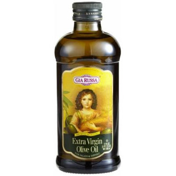 Gia Russa Extra Virgin Olive Oil, 16.9-Ounce Glass Bottles (Pack of 3)