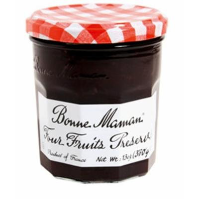 Bonne Maman Preserve, Four Fruit, 13 Ounce (Pack of 4)