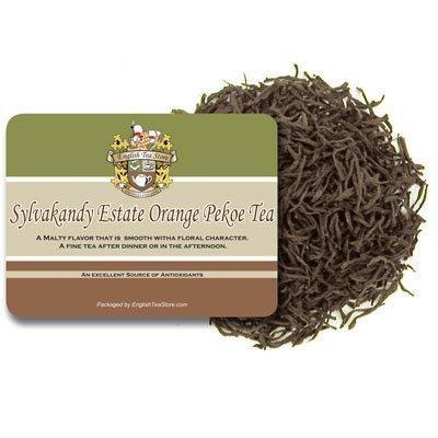 English Tea Store Sylvakandy Estate Orange Pekoe Tea Loose Leaf Pouches 16oz