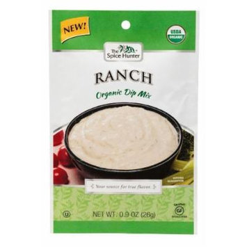 Spice Hunter Organic Dip Mix Ranch .90Oz (Pack of 12) - Pack Of 12