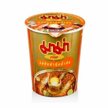 Mama Instant Noodle Cup (60 g) Shrimp Creamy Tom Yum Flavor Pack of 6