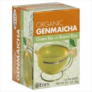 Eden Foods, Organic Genmaicha, Green Tea with Brown Rice, 16 Tea Bags 1.01 oz (29 g) -- 2PC