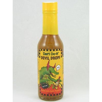 Dat'l Do-It Devil Drops Hot Sauce (Pack of 3)