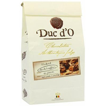 Duc d'O Dark Chocolate Truffles in a Luxury Bag 200 g