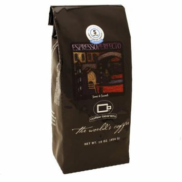 Coffee Beanery Espresso Perfecto® Coffee SWP Decaf 16oz. (Whole Bean)