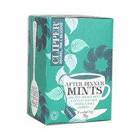 Clipper Tea - After Dinner Mints - Organic Double Mint & Fennel Infusion - 38g (Case of 6)