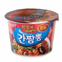 Samyang Gan Jjampong Gourmet Spicy Cup Noodle Soup 105g (Pack of 4)