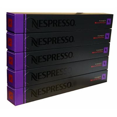 50 Nespresso OriginalLine: Decaffeinato Arpeggio, 50 Count - ''NOT compatible with Vertuoline''