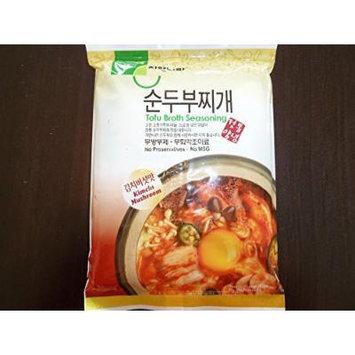 JayOne Tofu Broth Seasoning (Pack of 3) (Kimchi Mushroom)