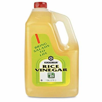 Kikkoman Rice Vinegar, 1 Gallon, 128 Ounce