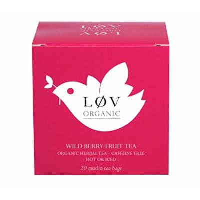 Wild Berry Fruit Tea 20 Muslin Tea Bags