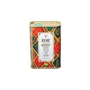 Zoe Organic Extra Virgin Olive Oil 750 Milliliter 6 Per Case.