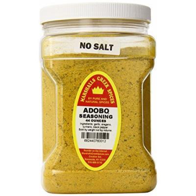 Marshalls Creek Spices Family Size Adobo No Salt Seasoning, 44 Ounce