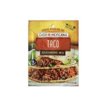 Casa Mexicana Taco Seasoning Mix, 1 oz (Pack of 4)