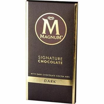 Magnum Signature Chocolate Dark Block, 90 g (Pack of 3)