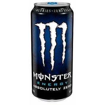 Monster Energy, Absolutely Zero, 16 Ounce (Pack of 24)