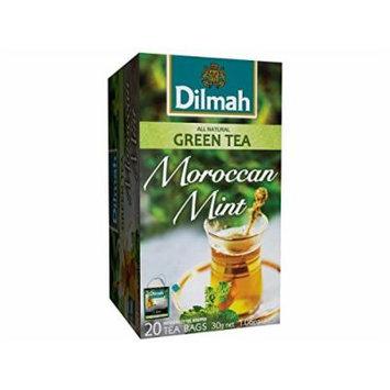Dilmah Moroccan Mint Green Tea 30g 1.06 Oz 20 Teabags