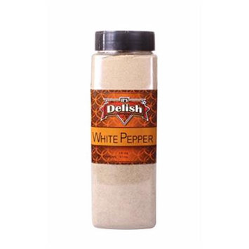 White Pepper by Its Delish (Ground, 18 Oz. Large Jar)