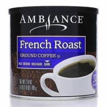 Ambiance Ground Coffee (French Roast, 27.8oz)