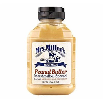 Amish Peanut Butter Marshmallow Whip - 6 / 12 Oz. Bottles, Mrs Millers Brand