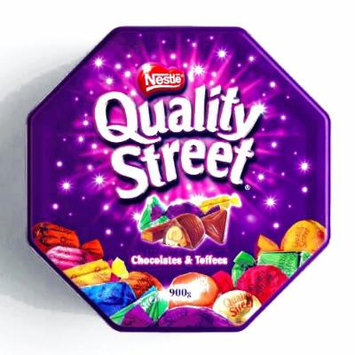 Quality Street Chocolate Tin (1 Unit Per Order) - Gourmet Christmas Gift for the Holidays